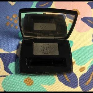 Chanel Eyeshadow Eyeliner Ebony 47 Black Smoky Eye